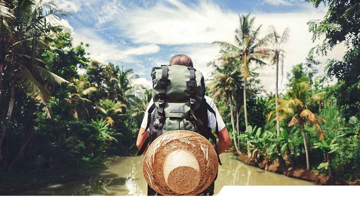 Viaggio con zaino in spalla