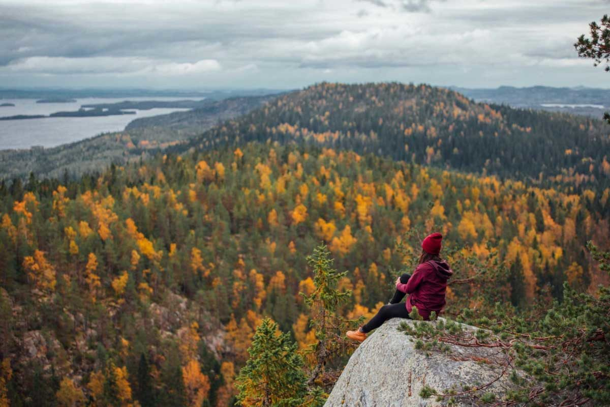 autunno in Finlandia