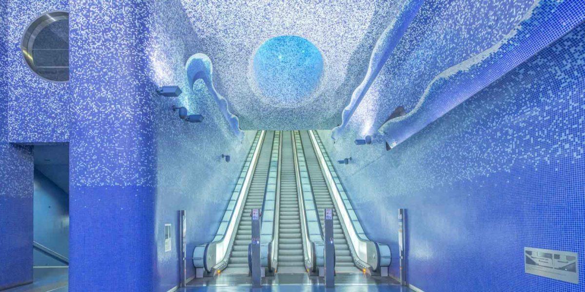 arte in metropolitana