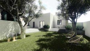 villa moderna total white