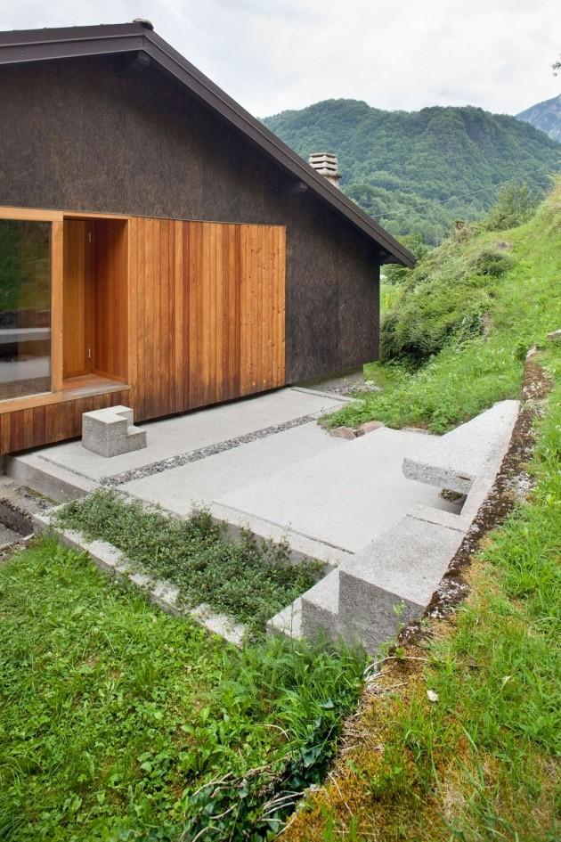 primo piano con sauna