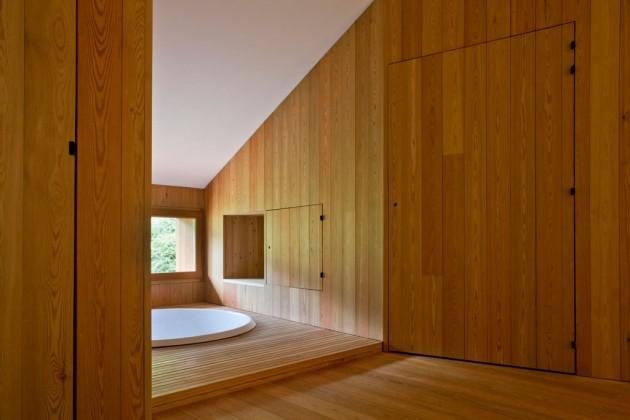 rivestimento interno in legno