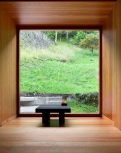Federico Mentil Timau sauna in legno