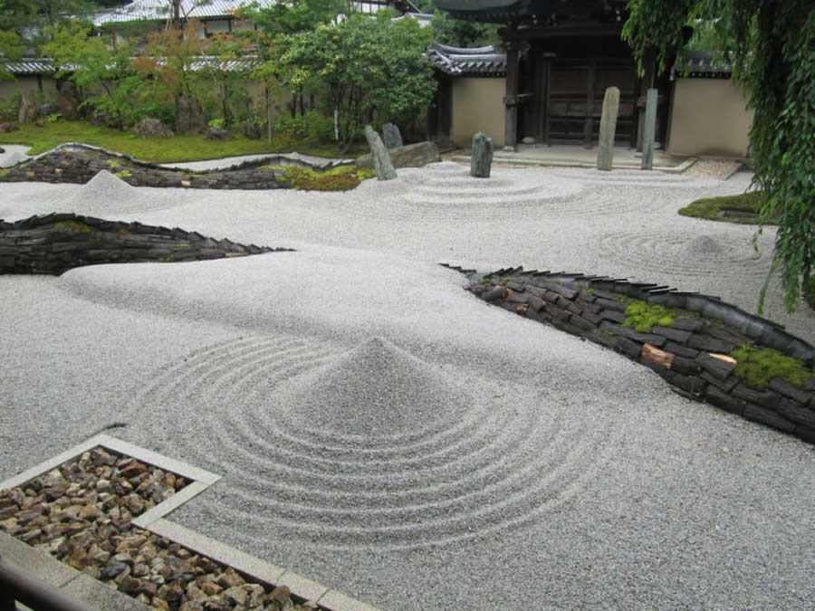 elementi giardino zen