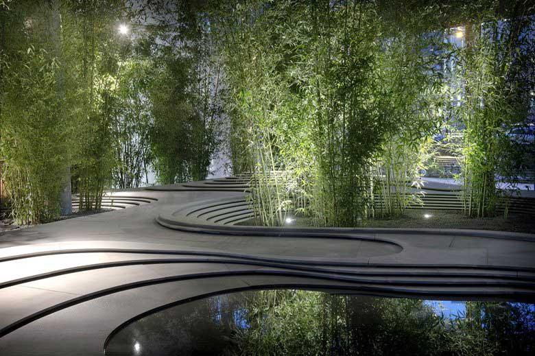giardino zen moderno