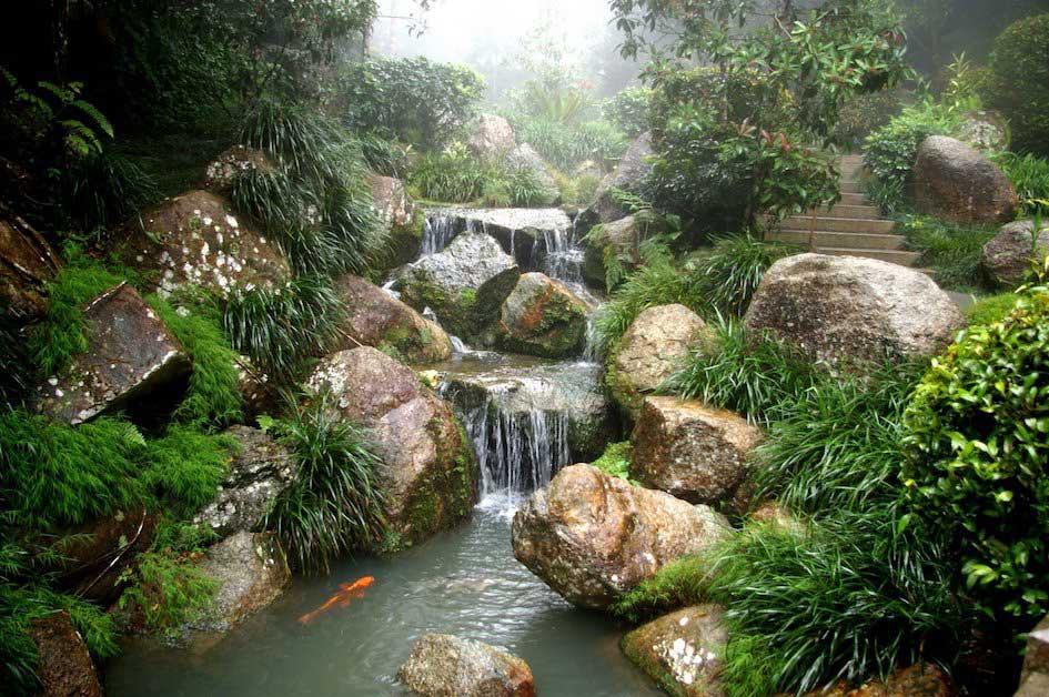 lago giardino zen
