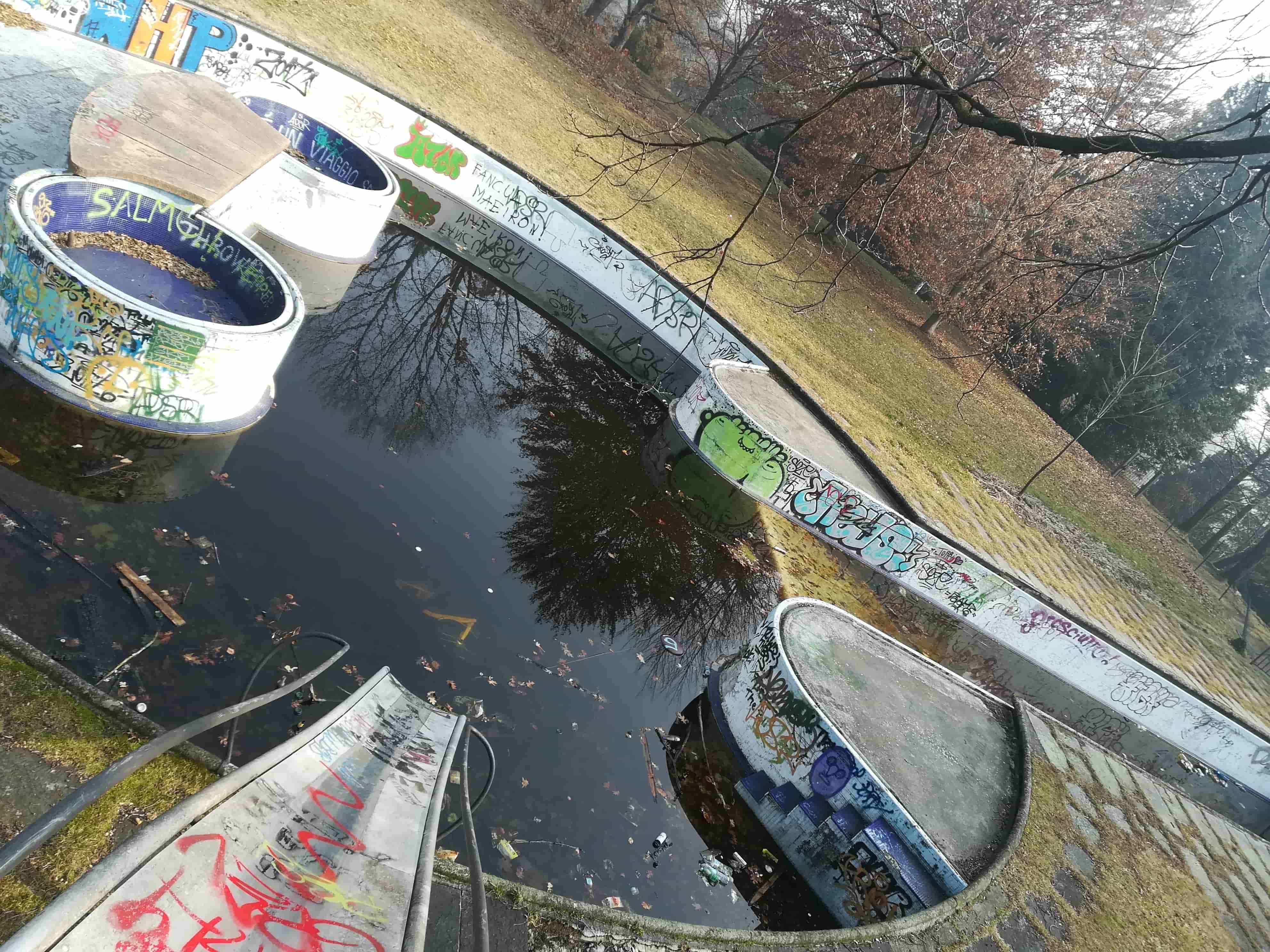 La piscina di Pietro Porcinai