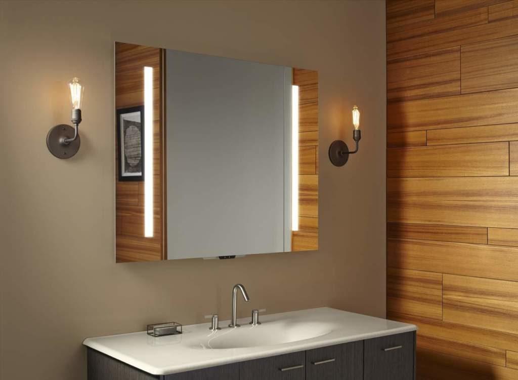 lo specchio che ascolta del bagno intelligente