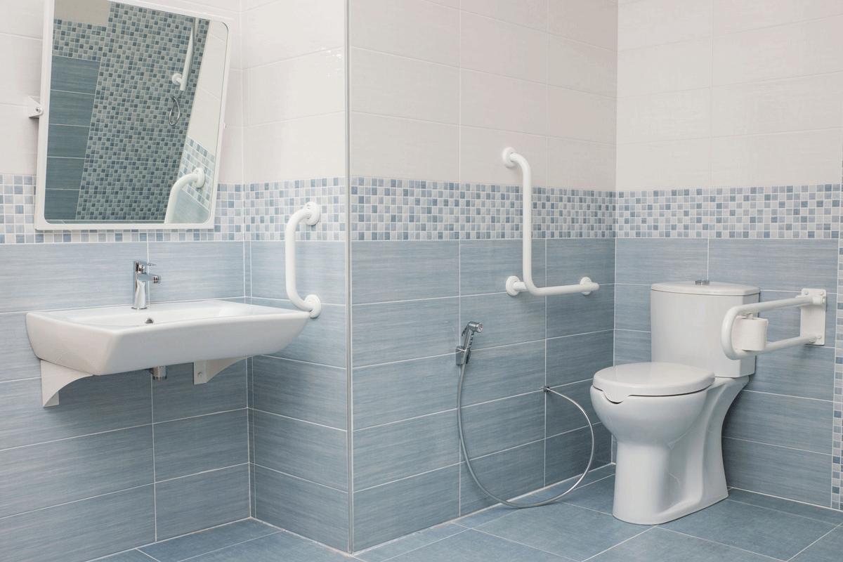 Il bagno accessibile a tutti guida alla progettazione di spazi per disabili - Bagno barriere architettoniche ...