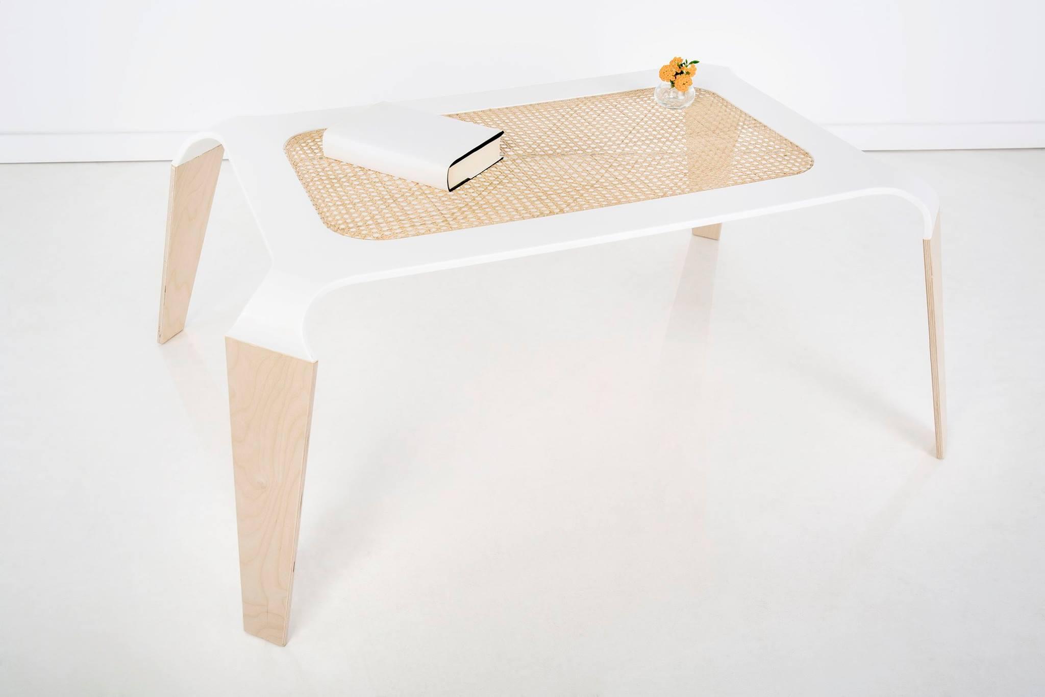 mobili con fibre naturali