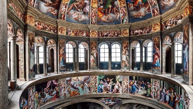 gli affreschi del Pordenone Piacenza