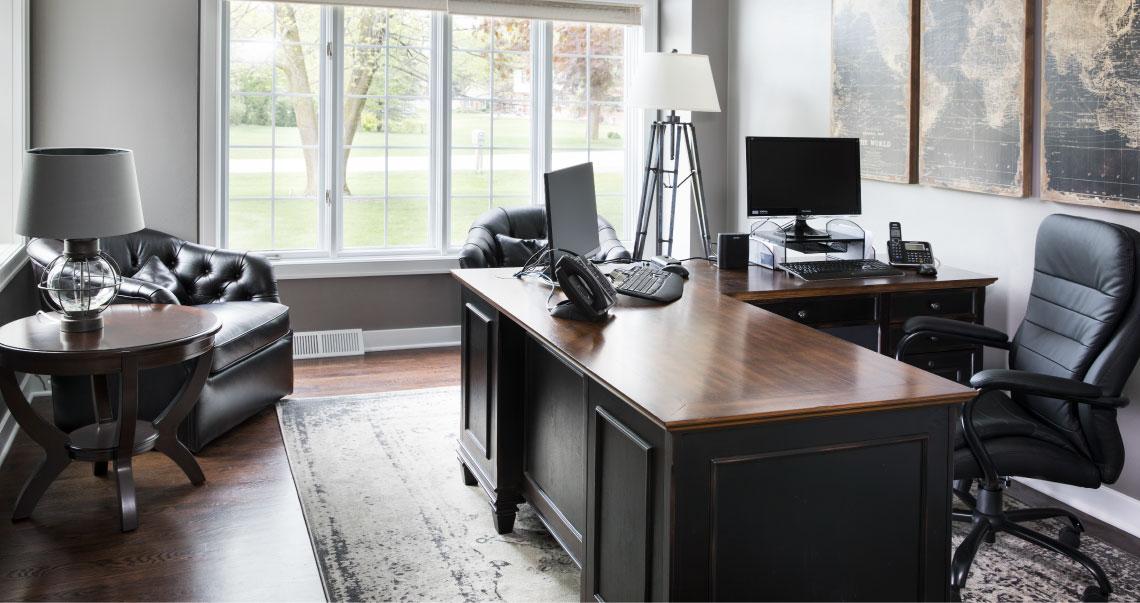 ufficio confortevole