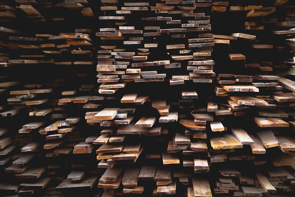 listelli in legno per veranda