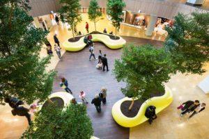 i giardini dei centri commerciali