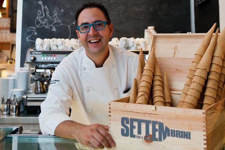Alberto Marchetti gelato molecolare