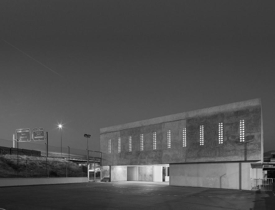 Elisa Valero, ampliamento di un edificio scolastico a Cerrillo de Maracena (Granada), 2013-2014