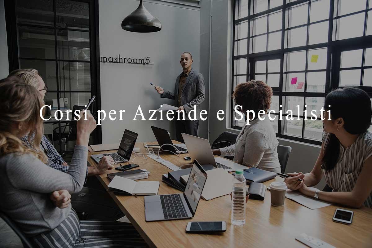 corsi per aziende e specialisti