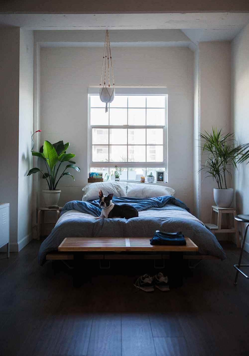 camera da letto casa di lusso