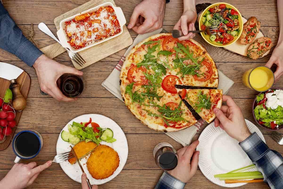 italiani e il cibo