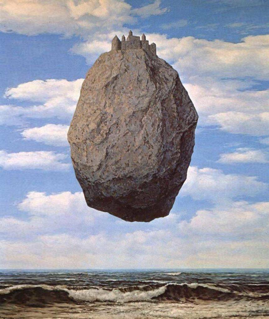 opere mostra Magritte. La Ligne de vie