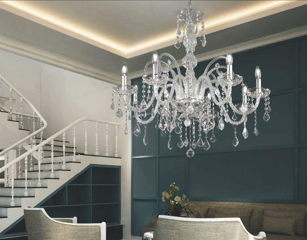 tipi di lampadari classici