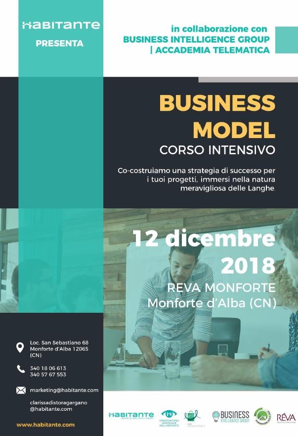 corso come costruire business model