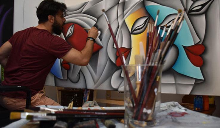 salone del mobile bergamo artisti