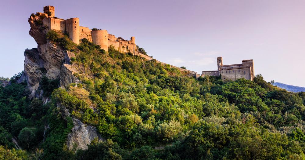 Roccascalegna: castello da sogno in affitto a meno di cento euro