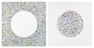 """Matteo Cugnasca ad Affordable Art Fair: """"Dall'imperfezione alla perfezione il percorso non è lineare, nell'arte come nella vita""""."""