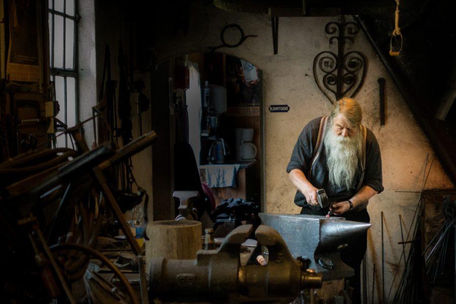 habitante artigianato artigiano ferro