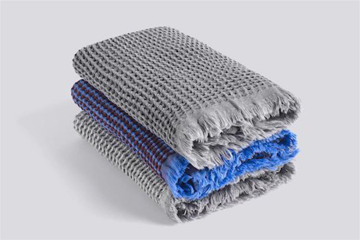 Asciugamani Waffle di Hay