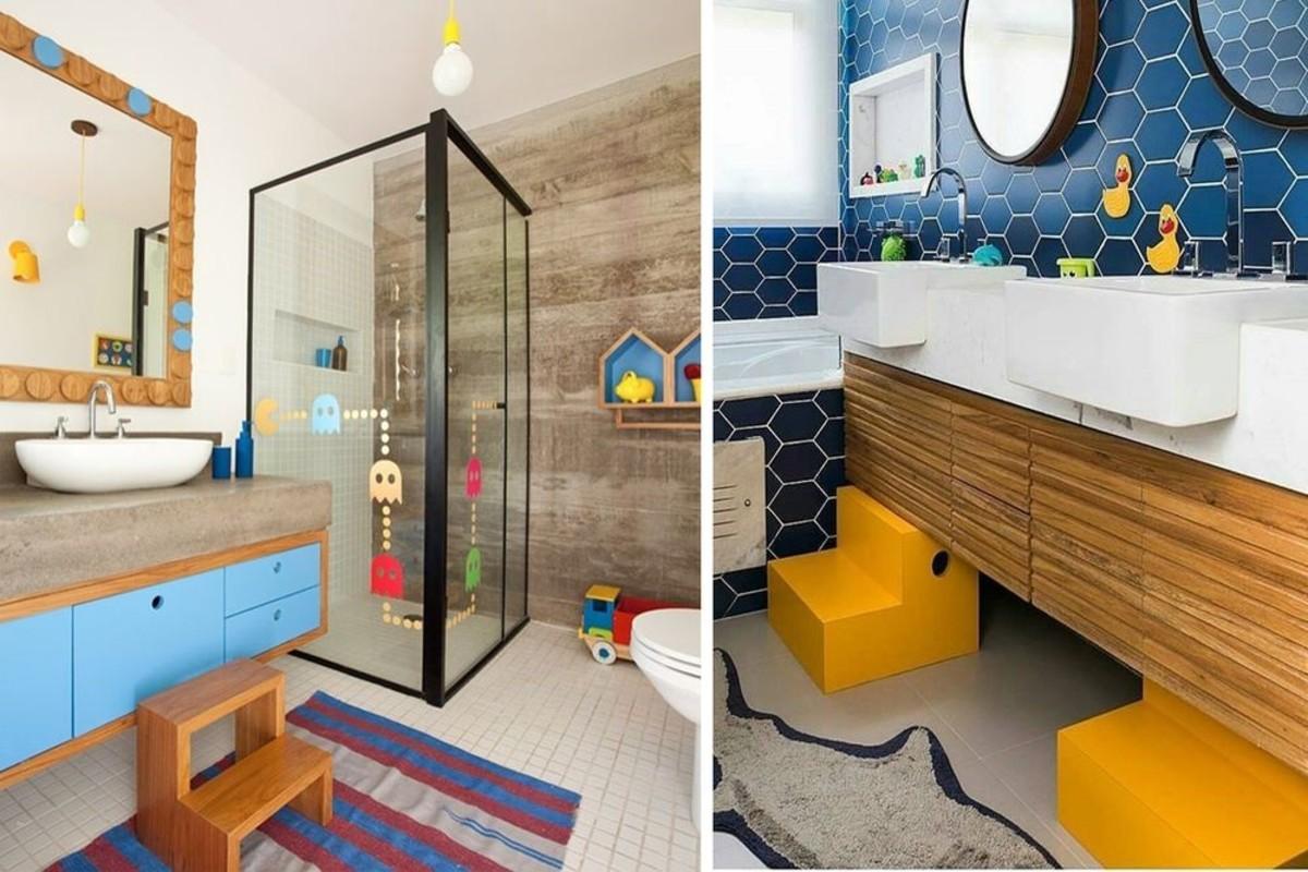 Vasca Da Bagno Per Bambini Grandi : Il bagno per bambini organizzato e colorato
