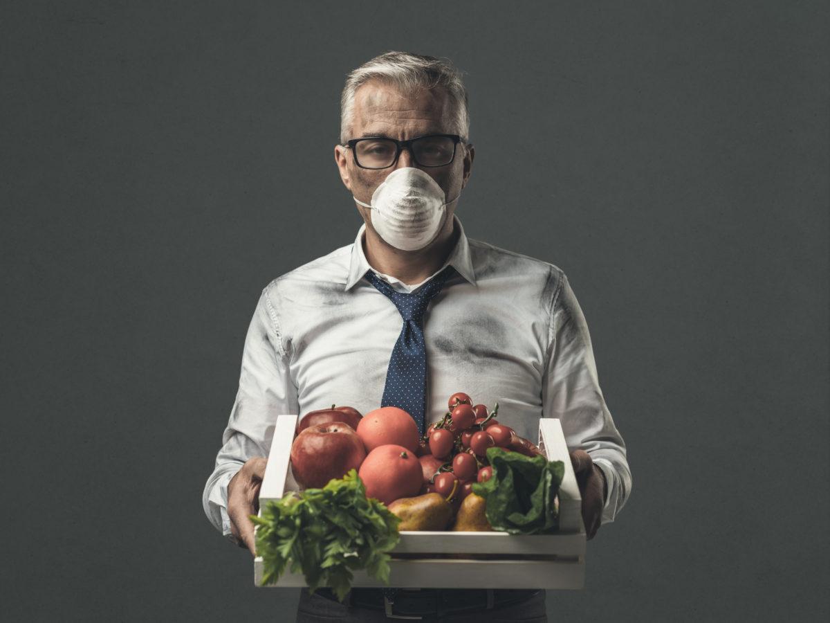 cibo inquinamento habitante