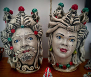 Teste di Moro, ceramica Sambuca di Sicilia
