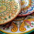 piatti in ceramica, Sambuca di Sicilia
