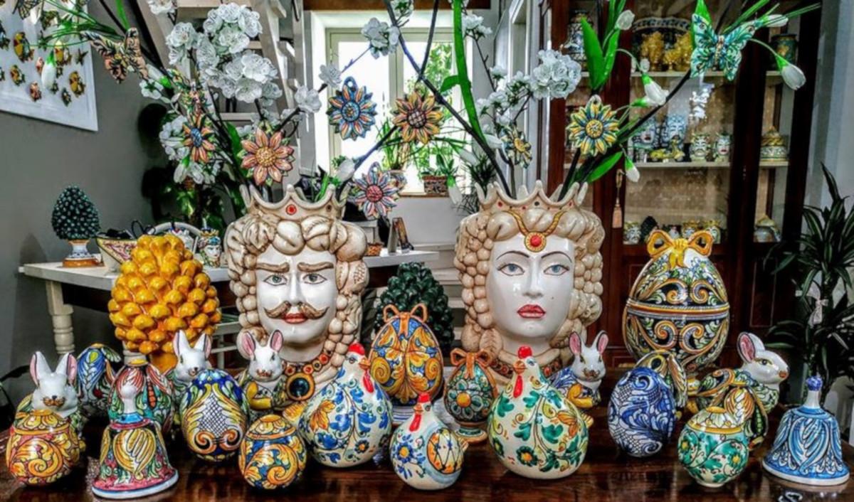 ceramica siciliana, Sambuca di Sicilia