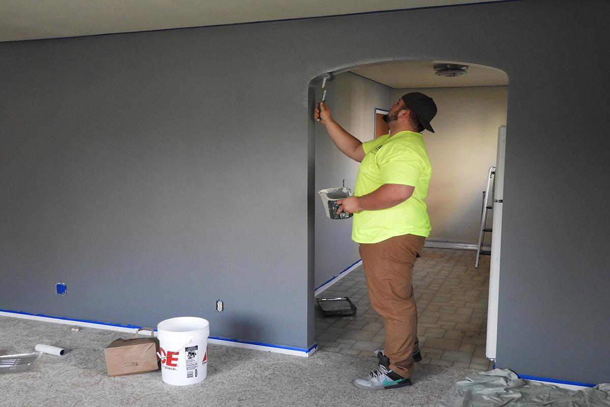 ristrutturare casa, pittura, lavori in casa