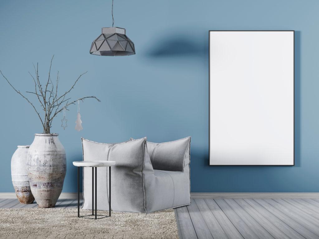 Di che colore è la tua casa? L'azzurro