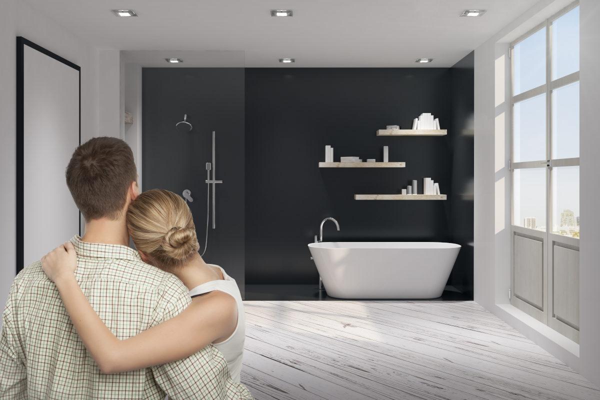 Come arredare un bagno per due