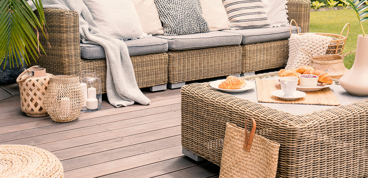 Veranda, giardino, relax giardino