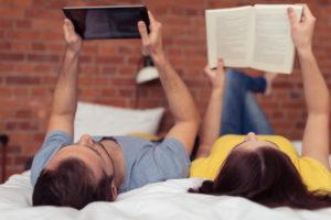 tempo libero agli italiani piace leggere online