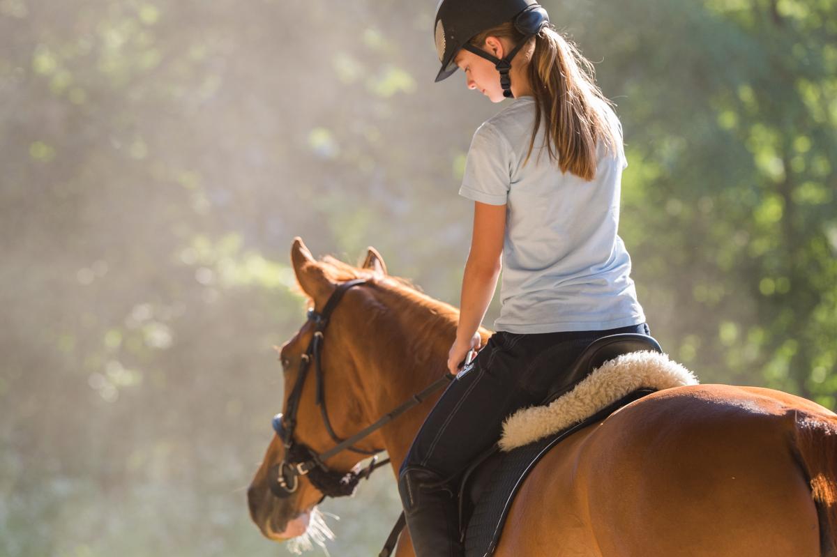 equitazione, benessere psicofisico
