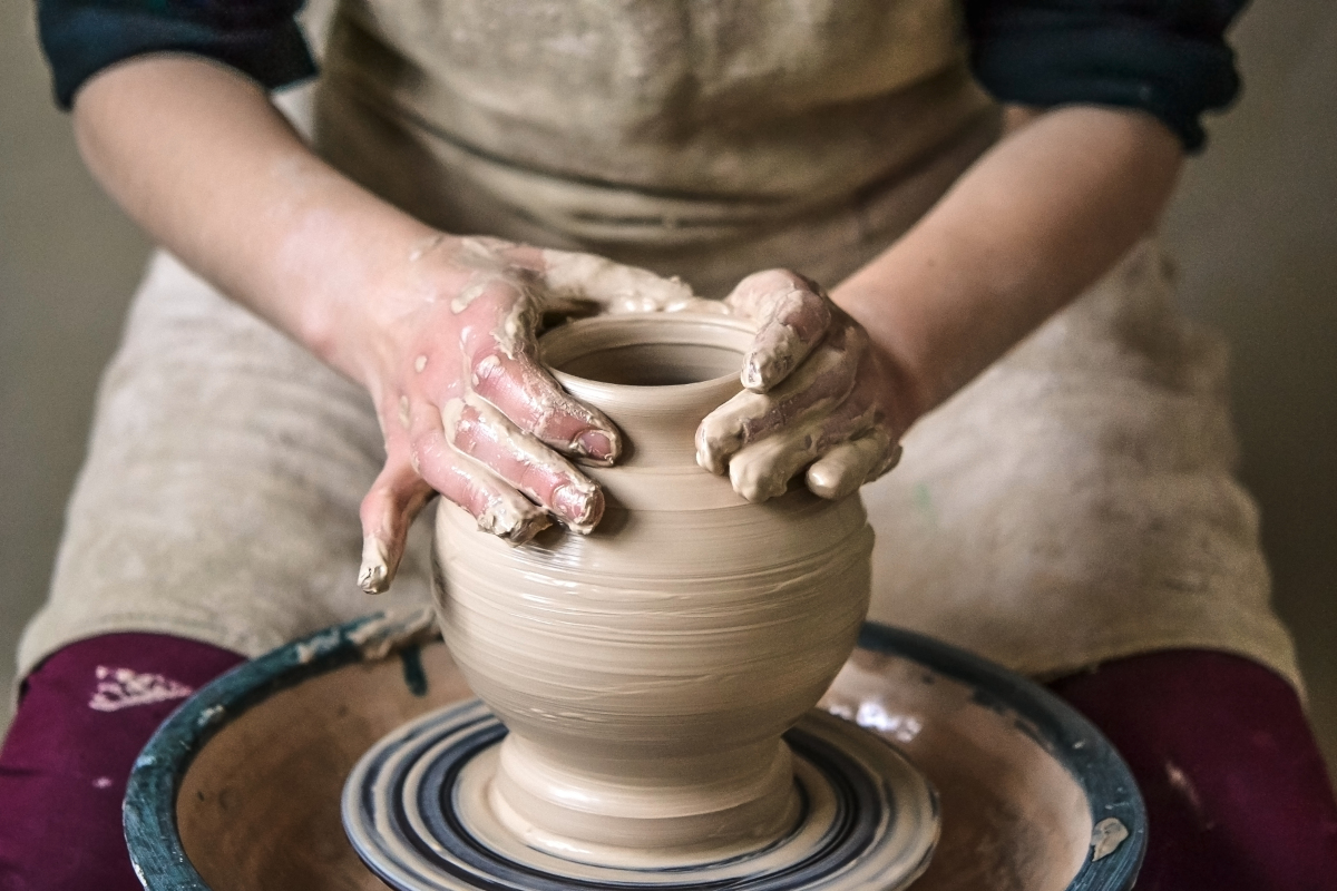 Lavorazione della ceramica in Sicilia