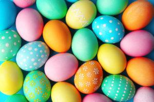 uova sode, uova di Pasqua, easter eggs