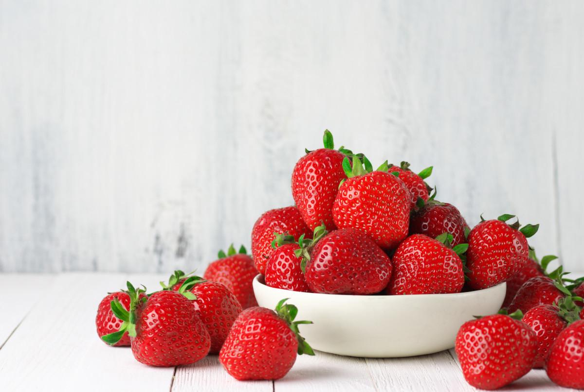 Il raccolto di maggio: fragole