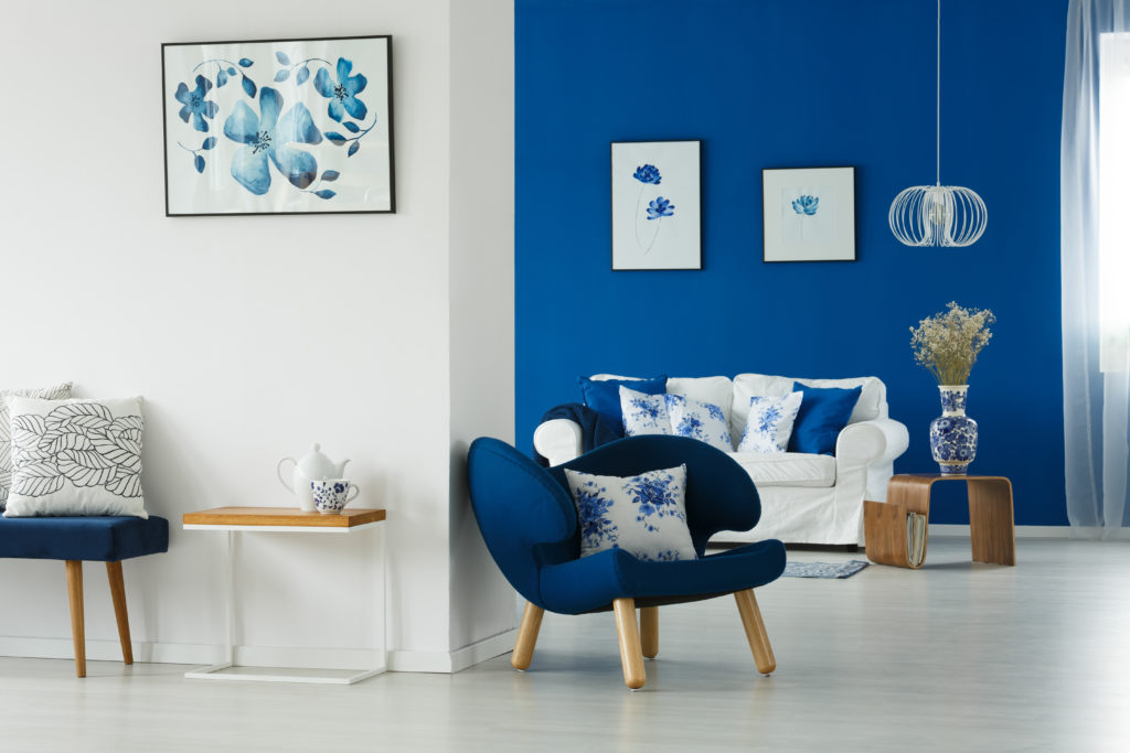 Di che colore è la tua casa? Il blu
