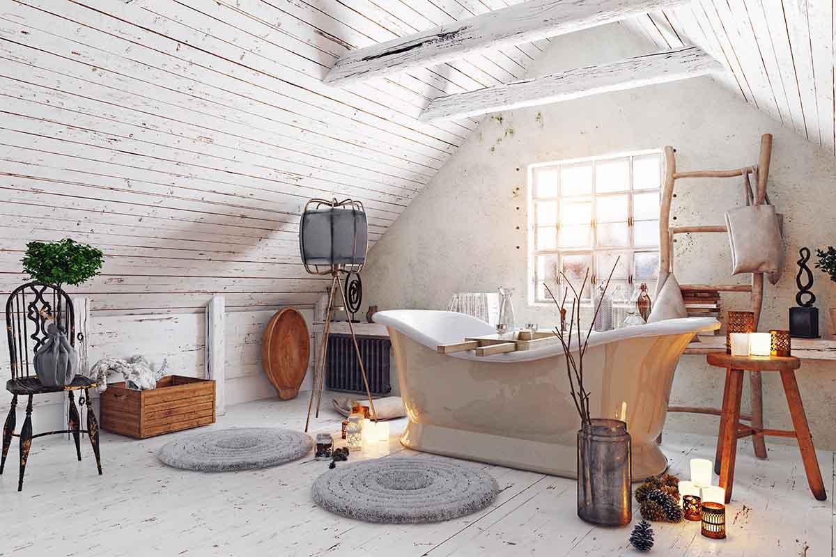 Bagno Shabby Chic Azzurro : Il bagno shabby chic e lo stile provenzale a casa tua