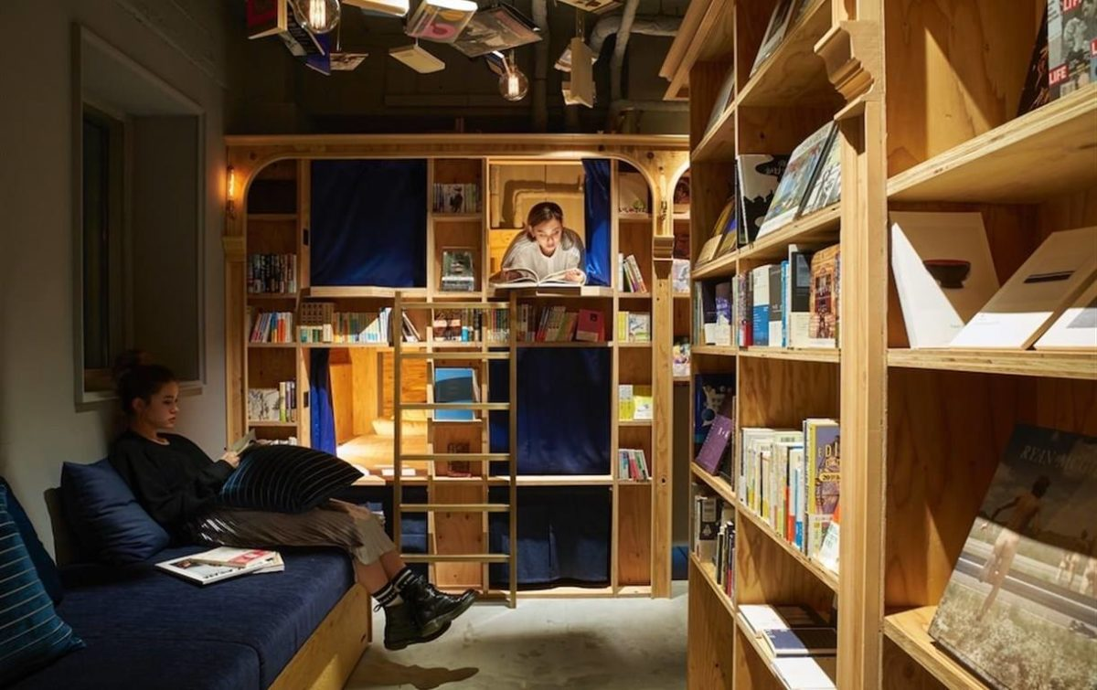 Anja Olsen, Facebook Book and Bed