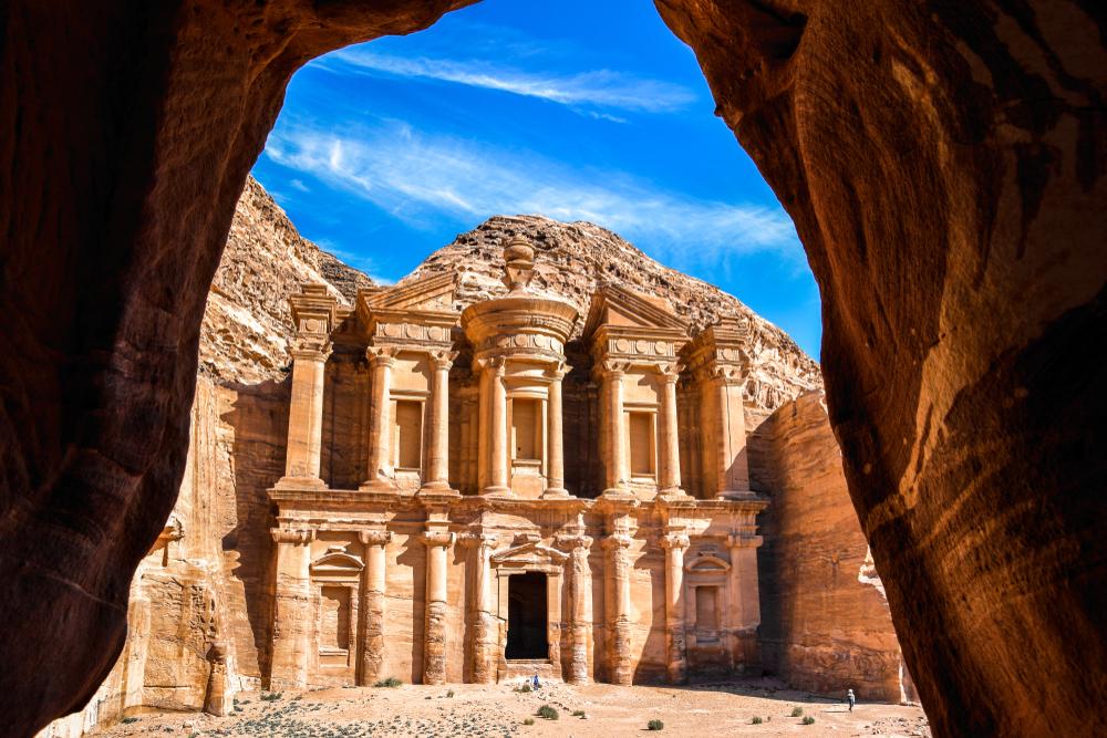 Petra, sito archeologico della Giordania sette meraviglie del mondo