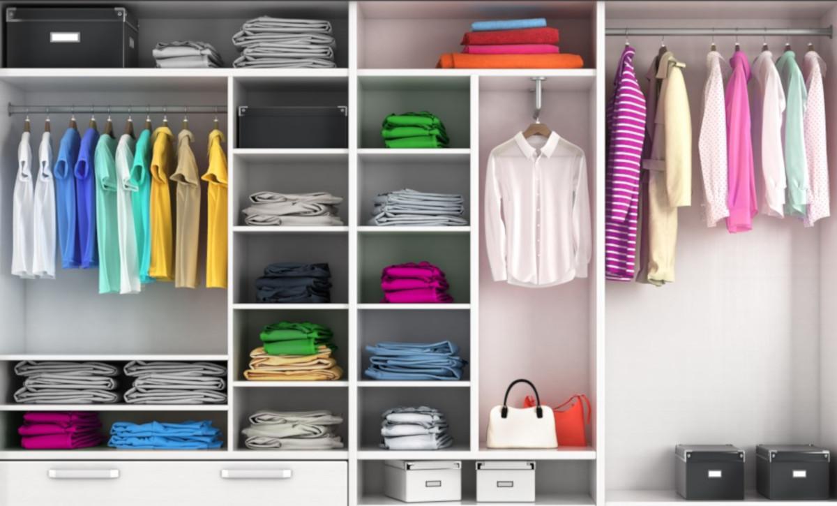 Tante idee per un armadio ordinato e più spazioso